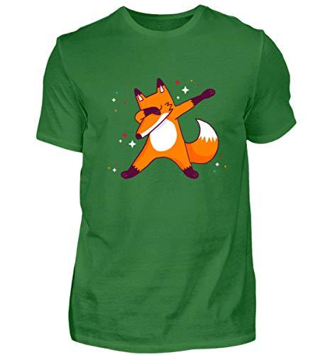 Cooles Fuchs Dab Design Aufdruck - Herren Shirt