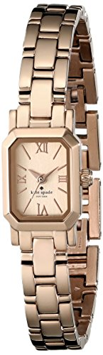 kate spade new york Women's 1YRU0632 Tiny Hudson Rose Gold Watch