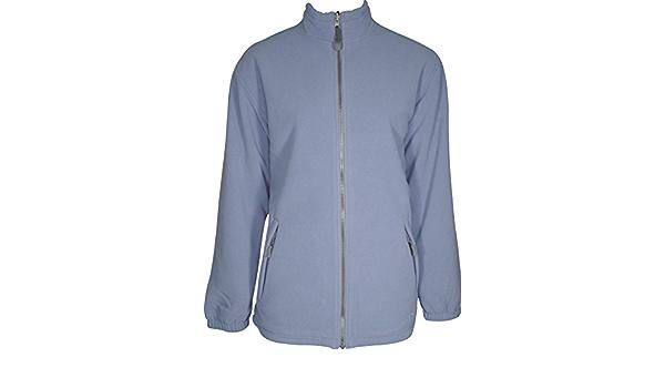 Wynnster Finisterre Womens Waterproof Fleece Jacket Blue-L