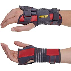 Wrist Support – Universal Design Fits Right or Left Hand | Adjustable & Breathable Wrist Brace Splint | Perfect for Carpal Tunnel, Arthritis, Tendonitis, Sprain, Night, Joint Pain Relief - L/XL