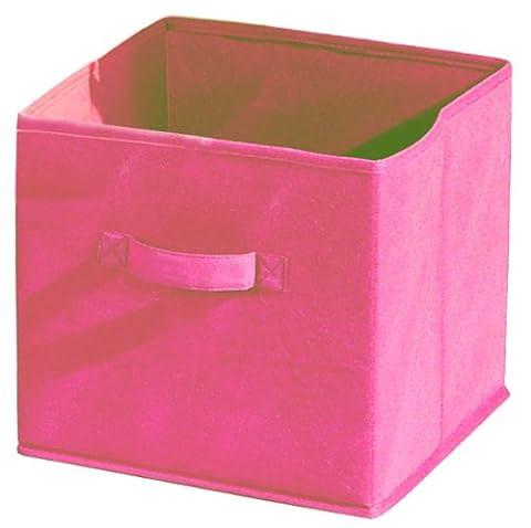 Alsapan - 95194 - Compo - Boîte de Rangement/Tiroir en Tissu - Rose