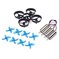 8 pcs propellers +4 pcs motors+1pcs Airframe +1pcs carry bag for JJRC H36 Eachine E010 NIHUI NH010 FuriBee F36 RC Quadcopter FPV Drone