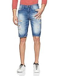 Lee Mens Denim Shorts (8907222986063_L23748D521KE_34_Blue)