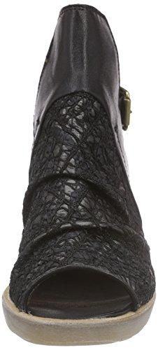 Mjus 603005-0401-6002, Sandales Bride arrière femme Noir - Noir