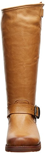 Frye Veronica Slouch, Bottes femme Camel Soft Vintage Leather-76602