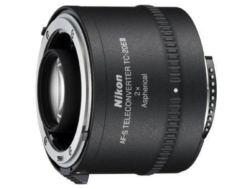 Nikon - TC-20E III - Téléconvertisseur AF - Multiplicateur 2x - Avec Bouchons / Etui CL-0715 (Import Royaume Uni)