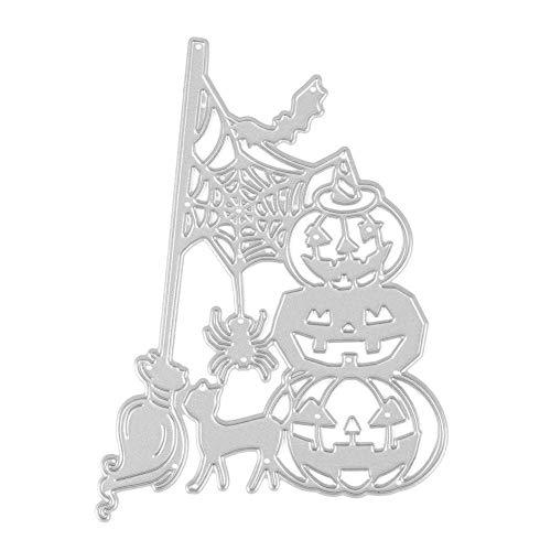 (Mikolot Halloween Stanzschablonen Schablonen Scrapbook Prägung DIY Basteln Album Karte MS-471)