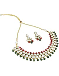 Latest Party Wear Kundan Jewellery Necklace Set For Women By Shining Diva