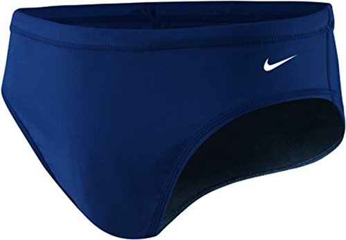 Nike Nylon Core Solid Swim Slip-Herren Gr. 26Farbe MidnightNavy -