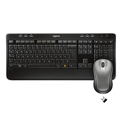 Bluetooth-wireless-tastatur (Logitech MK520 Wireless Combo Tastatur und Maus (QWERTZ, deutsches layout) schwarz)