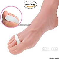 pedimendtm Silikon Gel Triple Loop Hammer Toe Straightener (4pair–8)   Glättung gebogen Zehen   Zehentrenner... preisvergleich bei billige-tabletten.eu