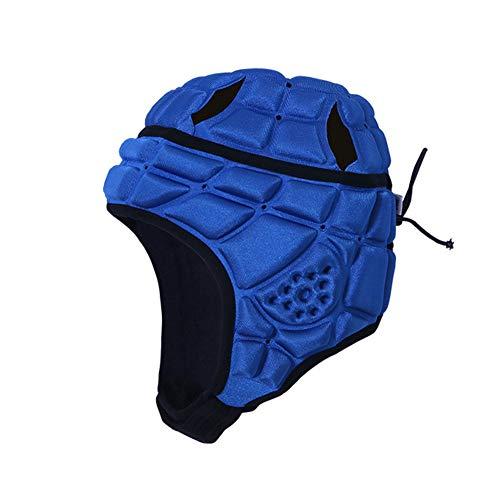 vap26 Torwart Rugby Helm Kopfschutz Kopfbedeckung für Fußball Scrum Cap Kopfschutz Soft Helm für Kinder Jugend