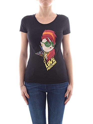 Moschino Love W 4 B19 4C E 1512 C74 T-Shirt Femme Noir