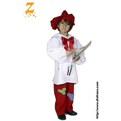 Zubehör Kostüm Maler - Kind Maler kostüme (5-6 Jahre)