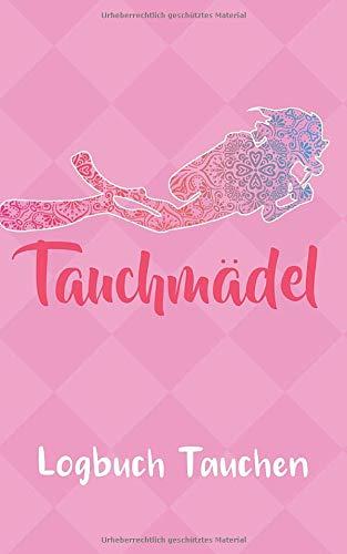 Tauchen Logbuch: Pink Gerätetauchen   Tauchen Dive Log. Platz für 100 Tauchgänge auf vorgedruckten Seiten für Taucherinnen Frauen Mädels und Ladies