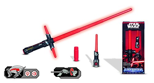 Imagen 1 de Star Wars - Sable electrónico Kylo Ren, Color Rojo (Hasbro B2948EU4)