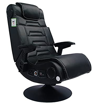 X-Rocker Pro Advanced 2.1 Gaming Chair, Black - cheap UK light shop.