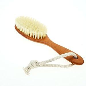 Kinder Haarbürste weiche Naturborsten, Birnbaumholz, Kinderbürste
