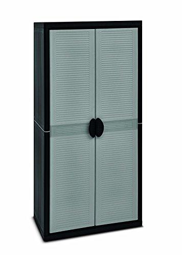 Preisvergleich Produktbild Terry Jumbo 3900 Qlack Hochschrank aus Kunststoff,  XL,  Besenschrank