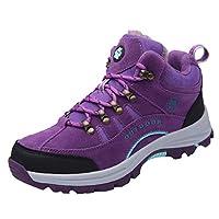 Couple Plus Velvet Winter Non-Slip Warm Cotton Shoes Climbing Boots Sneakers