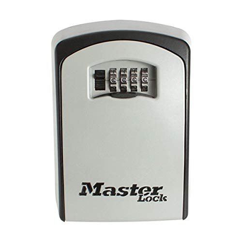 Master Lock 5403EURD Cassaforte/Casseta di Sicurezza per Chiavi, Extra Large, Montaggio a Parete