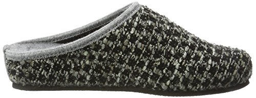 TOFEE Damen 74-Vang Pantoffeln Grau (Schwarz/Grau)