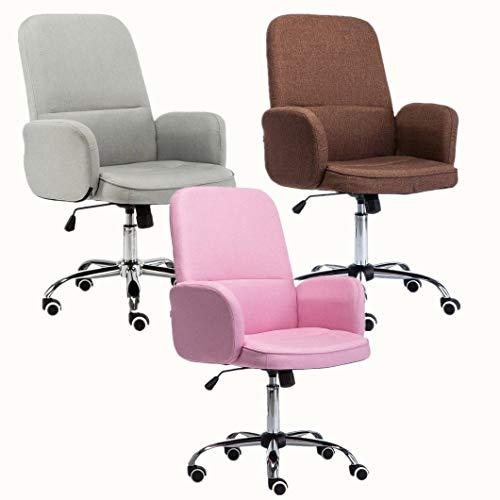 Drehstuhl Bürostuhl Chefsessel Arbeitshocker - 360 Grad drehbarer - höhenverstellbar -...
