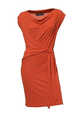Heine - Robe - Portefeuille - Opaque - Femme Orange Orange Orange