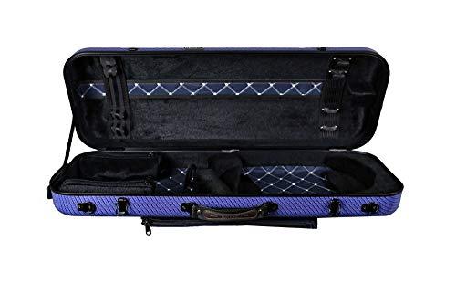 Original Tonareli Bratschenkoffer Sonderausgabe VAFO1005 BLUE CHECKERED 36-43 cm …