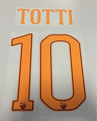 Flock Original AS Rom Trikot 25cm - Totti 10