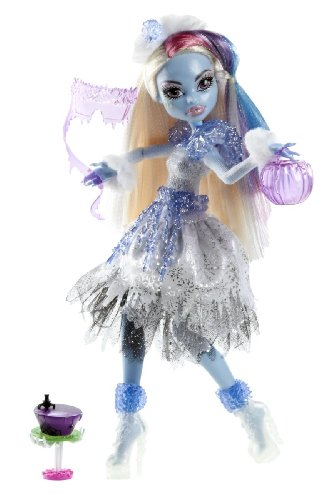 Mattel Monster High Y0366 -  Kostümparty Abbey Bominable, Puppe und (Abbey Bominable Monster High Kostüm)
