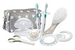 Idea Regalo - Nuk 10256412 Welcome Set Igiene per Neonati, con Succhietto e Beauty inclusi