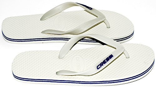 Cressi Beach Tongs Mixte Blanc