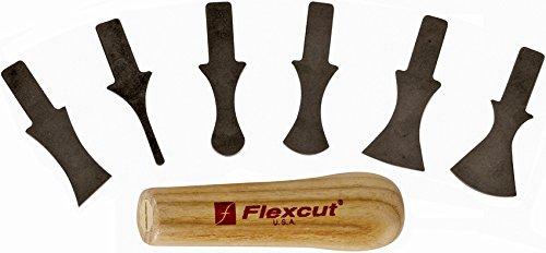Flexcut flexsk121, Couteau à Lame Fixe – Adulte Unisexe, Multicolore, Taille Unique