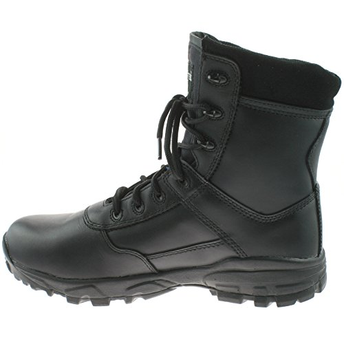 /Koffer Grafter Black/White Ambush Military Combat Cadet, wasserdicht Black Leather/Coated Action Leather