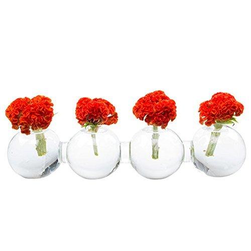 Chive Glas Hudson 5 Caterpillar Big Vase, transparent