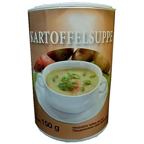 Biller Kartoffelsuppe Instant Diät Suppe Slim glutenfrei ohne Glutamat vegetarisch 150g Dose