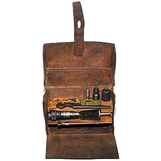 Leder Werkzeugtasche M37 mit Inhalt gebraucht
