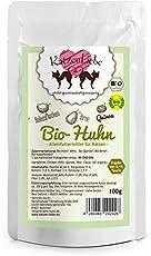 KatzenLiebe Premium Nassfutter Bio-Huhn mit Bio-Quinoa