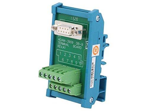 ADAM-3909-AE Industrial module terminal block Mounting DIN female, DB9 Adams-block