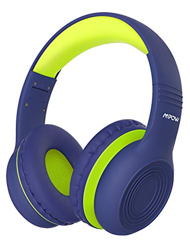 Kinder Kopfhörer, Mpow CH6 Kopfhörer für Kinder mit 85dB Lautstärkeregler Schalter Over-Ear Ohrenschützer Faltbar Lebensmittelqualität Material Mikrofon für Smartphone, Tablet, Laptop, Computer, mp3/4