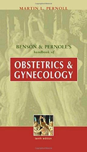 Benson & Pernoll's Handbook of Obstetrics & Gynecology by Martin Pernoll (2001-01-11)