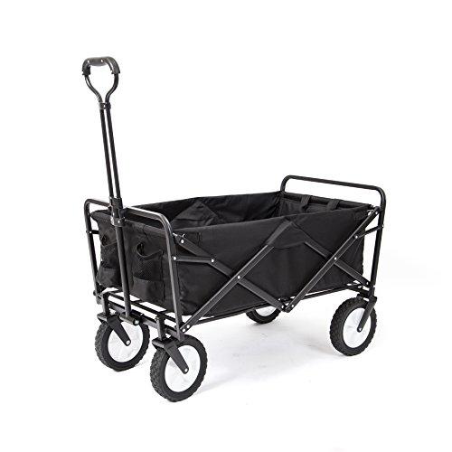 Unbekannt MAC Sports zusammenklappbar Outdoor Utility Wagon schwarz (Wagon Sport Utility)