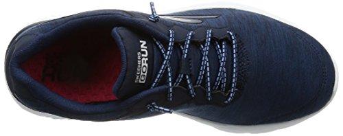 Skechers Go Run 400-Swiftly, Scarpe Running Donna Blu (Navy/white)