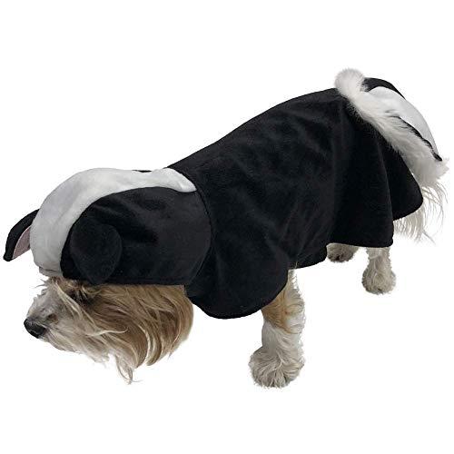 BFF Costumes Skunk Kostüm für Kleine Hunde, Small