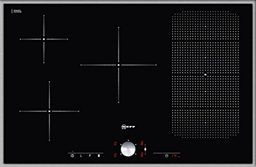 Preisvergleich Produktbild Neff TT 5386 N Kochfeld Elektro / Induktion / 80,30 cm / Kochstelle Glaskeramik / edelstahl