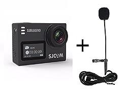 SJCAM SJ6 LEGEND 2 LCD Touch Screen 2880-2160 4K Action Camera Novatek NT96660 Panasonic MN34120PA CMOS Black + Microphone
