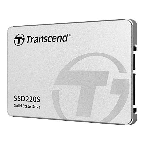 """Transcend 240GB SATA III 6Gb/s SSD220S 2.5"""" SSD TS240GSSD220S"""