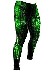 Monster Hombre Compresiva Leggins High Type Ropa deportiva MMA Prenda de lucha entrenamiento. Gimnasio Artes Marciales