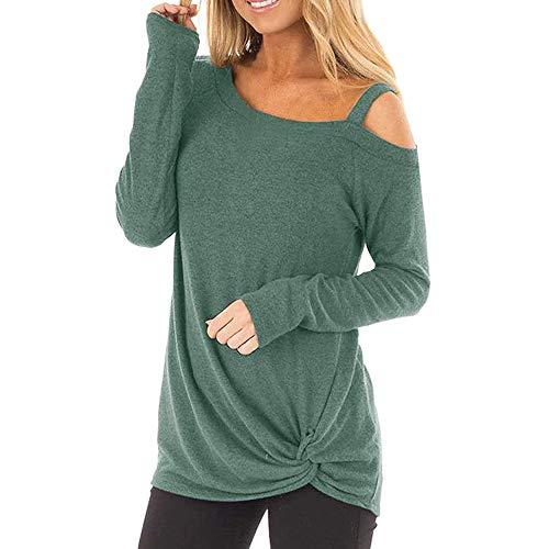 MERICAL T-Shirt à Manches Longues à Manches Longues pour Femmes